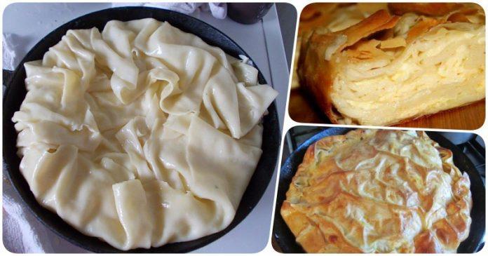 Любителям сыра посвящается: невероятно вкусный сырный пирог своими руками