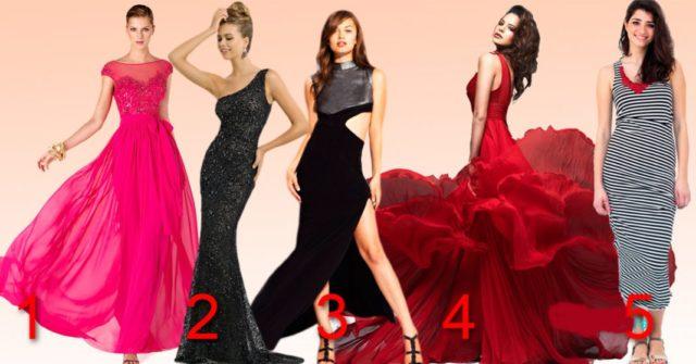Тест для леди! Выберите платье и узнайте о себе кое-что интересное