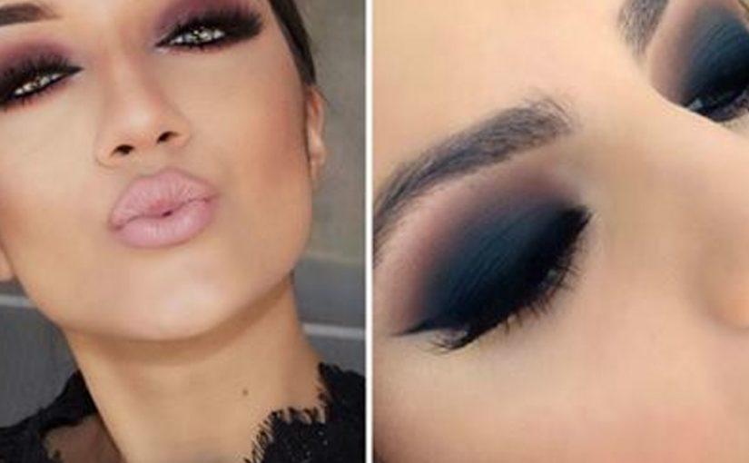 Смоки 2018: любимый дымчатый макияж глаз смоки