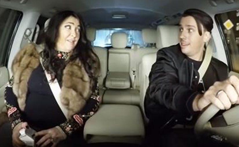 Лолита отжигает в машине у Максима Галкина. Я чуть не лопнула от смеха!