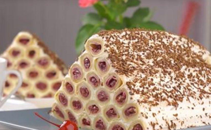 Торт «Монастырская изба» из блинов: необычайно вкусный