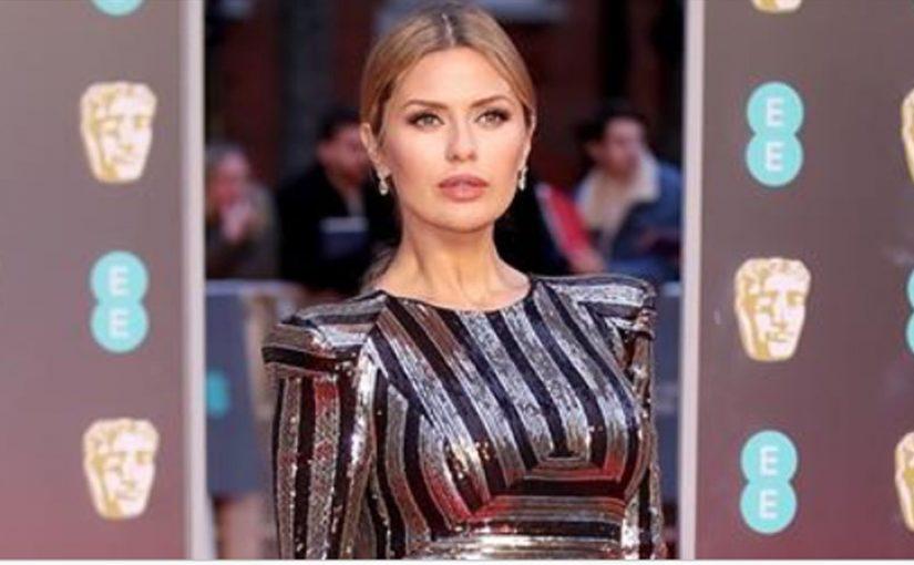 Виктория Боня на красной дорожке премии BAFTA-2018