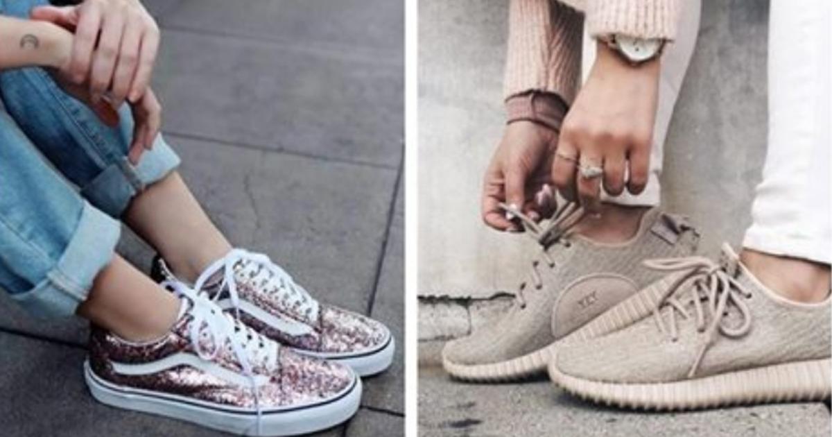 Самые стильные варианты кроссовок 2018 года