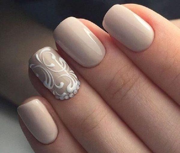 Оригинальный и стильные идеи для маникюра с дизайном на безымянном пальце
