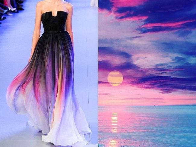 Этот модельер вдохновлен природой! Потрясающие платья