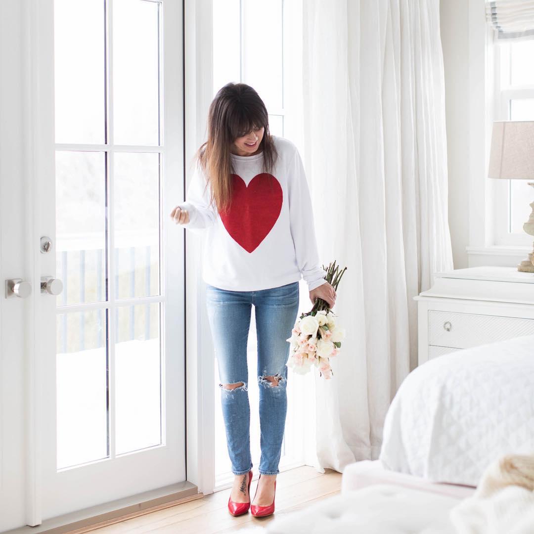 Джинсы с туфлями станут лучшими друзьями для весны 2018 года! 24 стильных образа