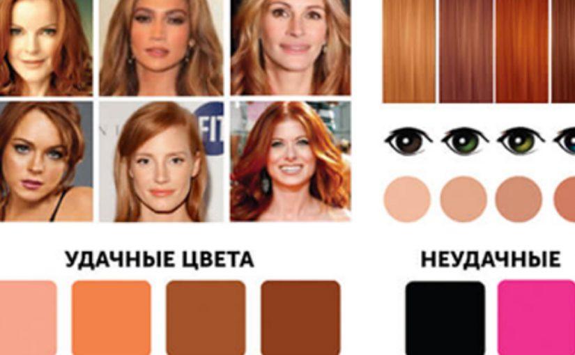 Какие 12 цветов идеально гармонируют с Вашей внешностью? Эта шпаргалка подскажет