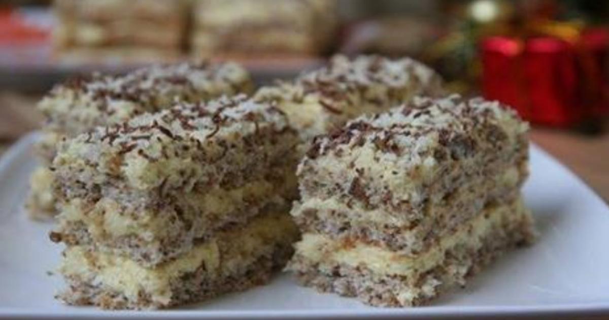 Нежный и лёгкий десерт для праздничного стола. Даже начинающие домохозяйки смогут порадовать гостей!