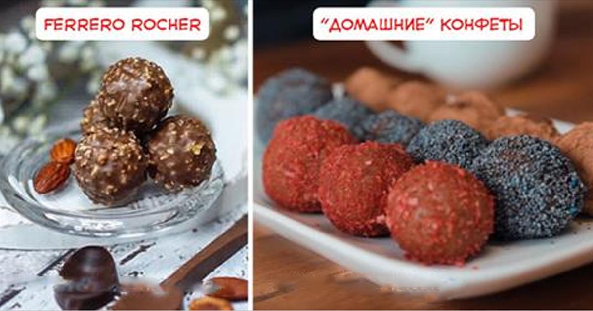 Без лишних жиров и калорий: готовим вкусные, быстрые, а главное — полезные конфеты дома за 20 минут