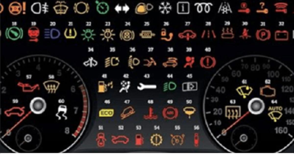 А вы знаете значение каждого значка в вашей машине? Если нет, то вот подробный разбор!