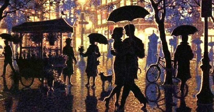 «Вальс дождя». Неземная музыка! Без слёз невозможно слушать.