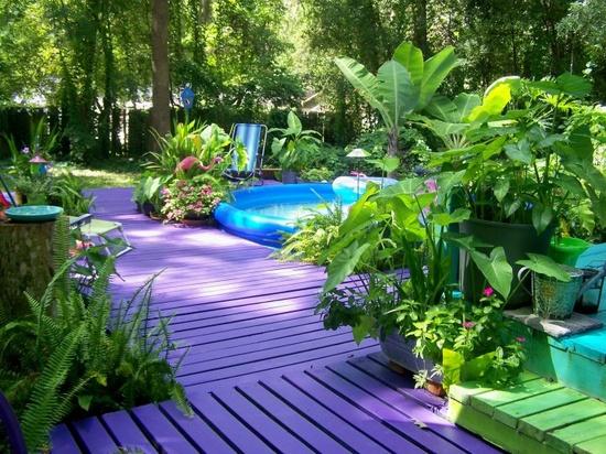 Садовые постройки, клумбы и другие идеи для сада