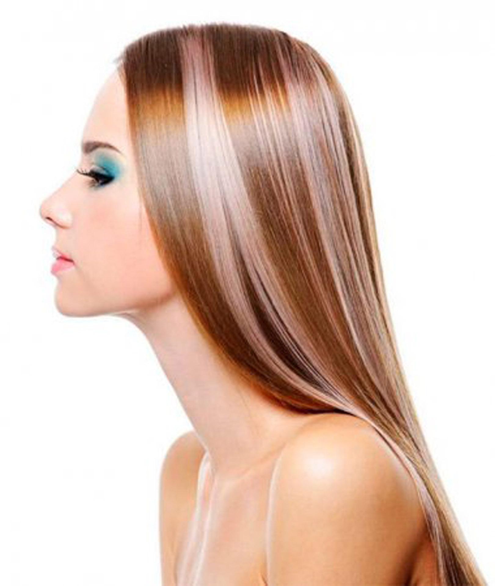 Как сделать колорирование на темные волосы фото