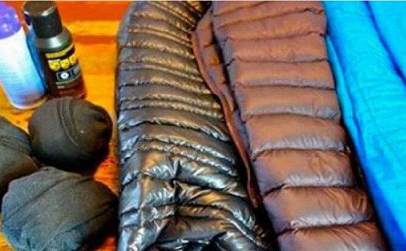 Как вернуть курточке прежний вид если после стирки пух сбился в комки