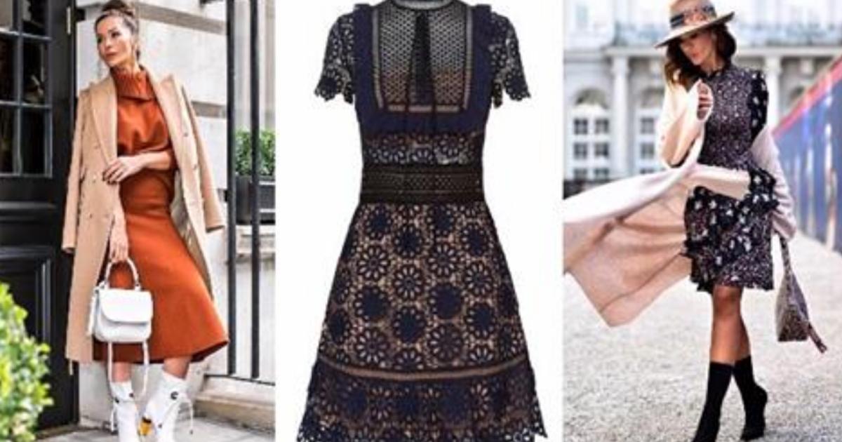 Топ-7 платьев, которые необходимо купить в 2018 году. Любимое кружево возвращается!