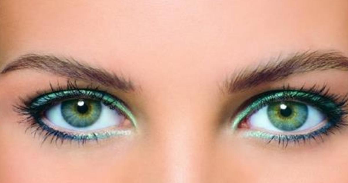 Все тонкости макияжа для голубо-зеленых глаз + 30 фото примеров