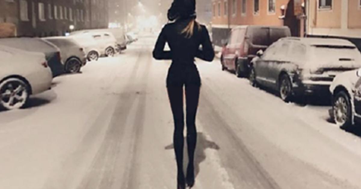 Ноги которые покорили мир! При росте в 178 см длина ног этой шведской красавицы 108 см