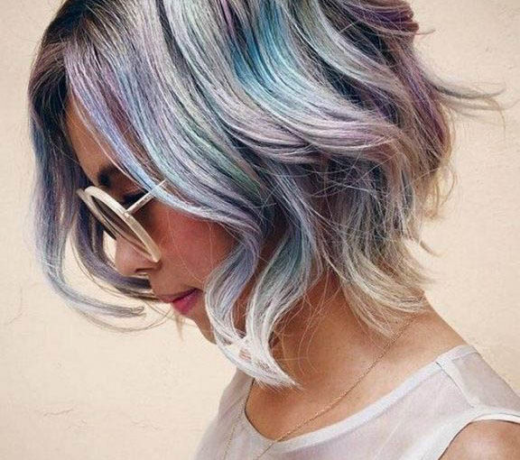 Двухцветное окрашивание волос в новом сезоне 2018