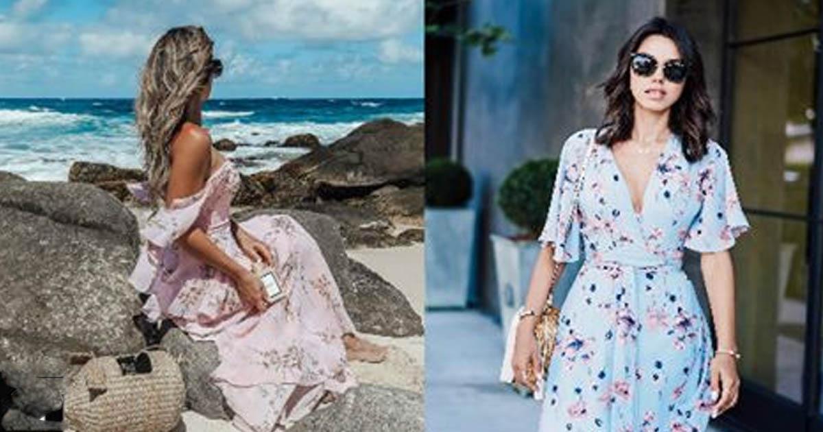 86b0f1efeadb35c Модные платья весна-лето 2018: 24 потрясающих образов - БАгиня