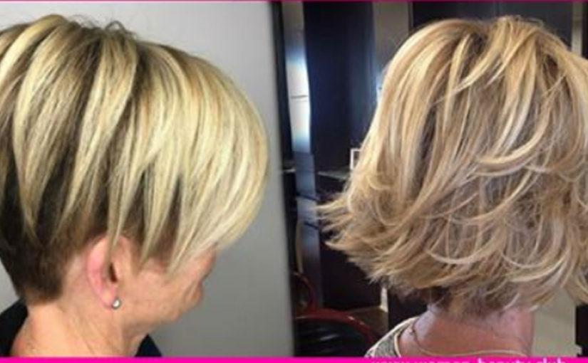 Стильные стрижки на короткие волосы для женщин за 50