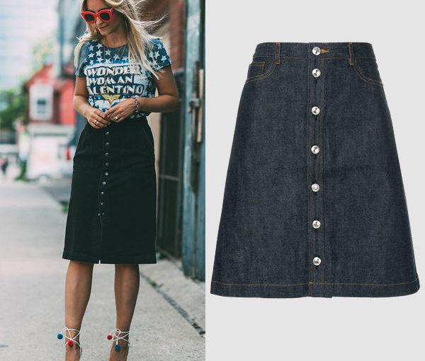 Модные джинсовые юбки: какие фасоны лучше носить в 20, 30 и 40 лет