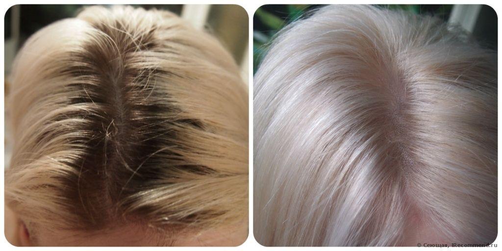 Как правильно осветлять волосы в домашних условиях краской 104