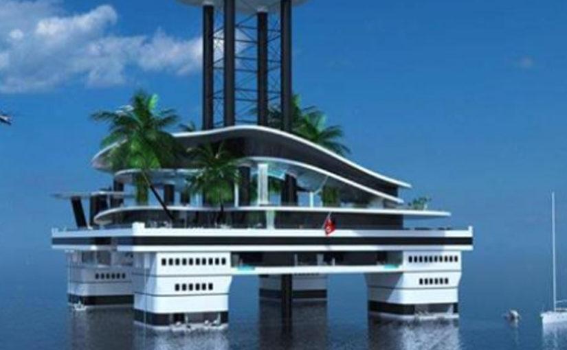 Яхты – вчерашний день. Теперь в моде у миллиардеров передвижные частные острова