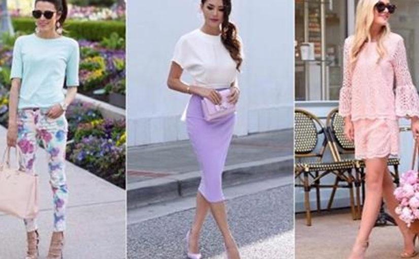 26 способов носить пастельные цвета и выглядеть, как принцесса
