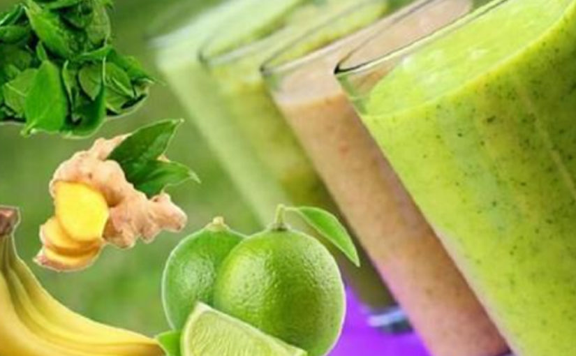 Десять зеленых смузи для очищения организма
