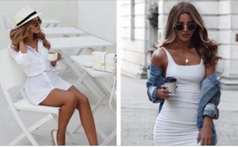 Белые платья и сарафаны для жаркого лета