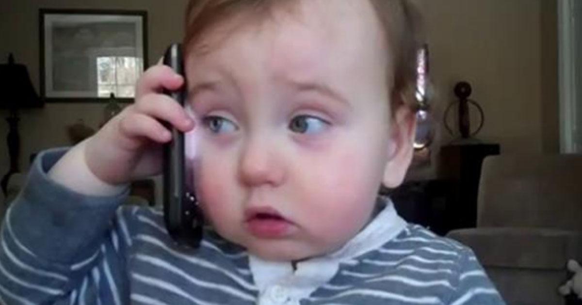 Начальник позвонил домой сотруднику, который не вышел на работу, но трубку взял ребенок. Вот что из этого вышло