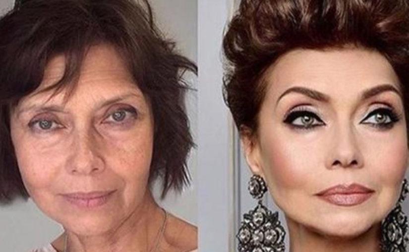Сила макияжа: 23 впечатляющих примера.