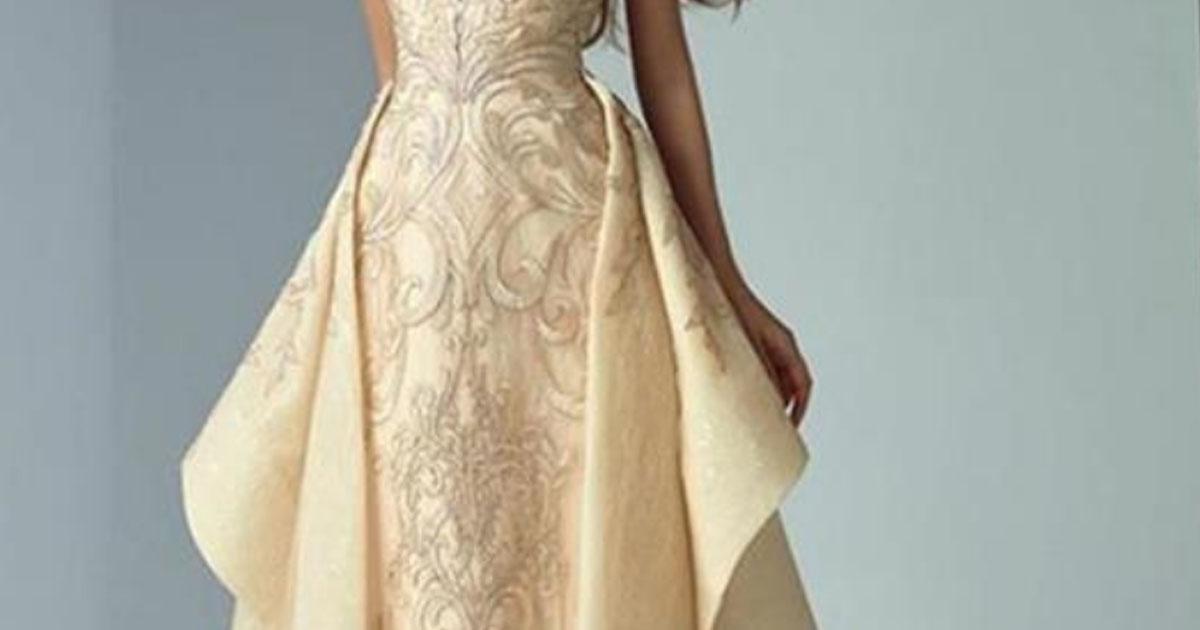 30 вечерних платьев от Saiid Kobeisy.