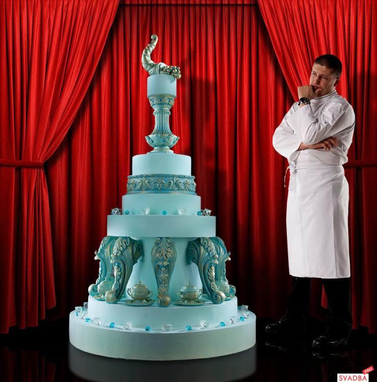 Это не торты, а произведения искусства. Мастерство этого кондитера восхищает!
