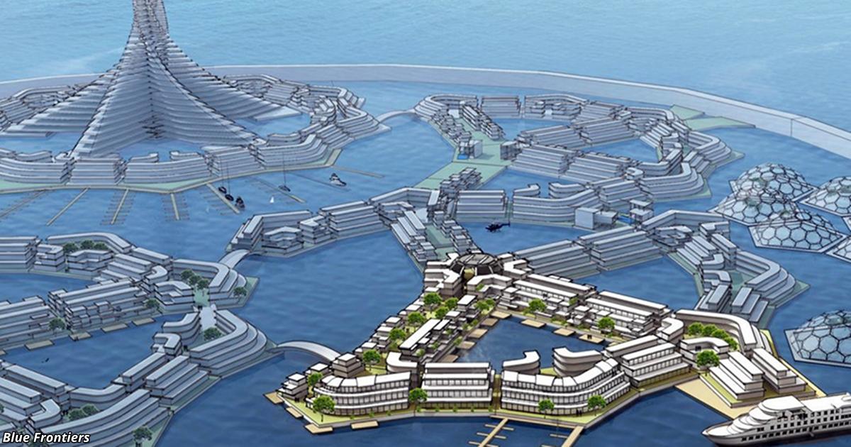 Первое в мире ″государство на воде″.Появление запланировано на 2022 год