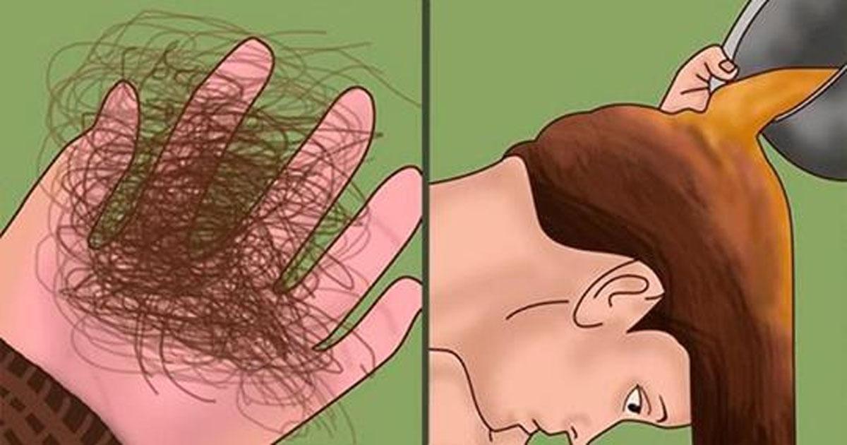Лучшая маска от выпадения волос