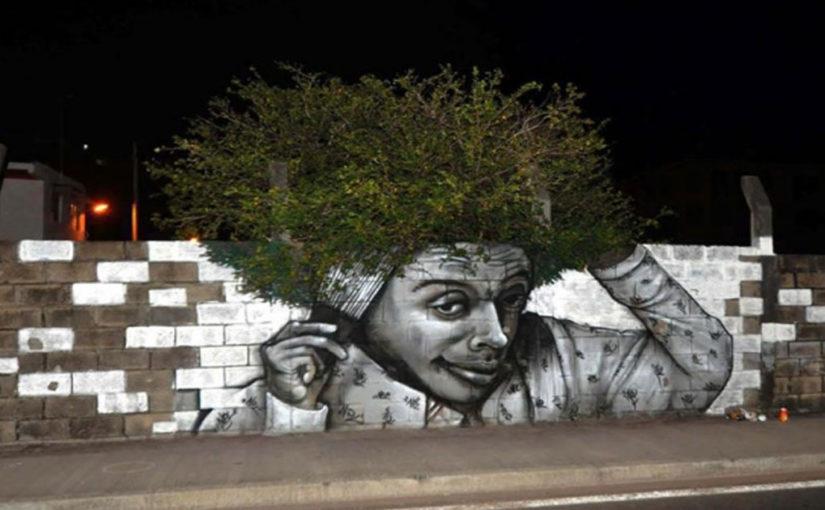 Уличные художники превращают серые и невзрачные стены домов в настоящие произведения искусства