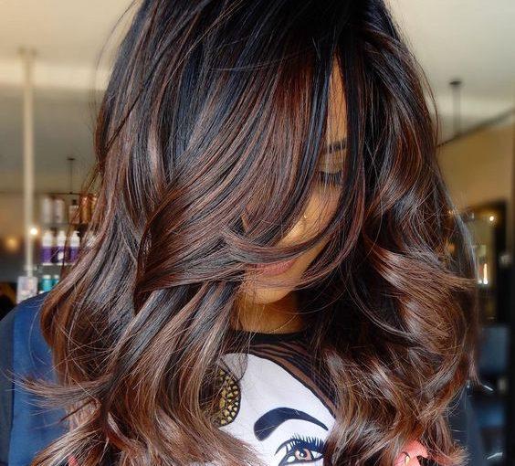 Трендовый оттенок осени: окрашивание волос колд брю