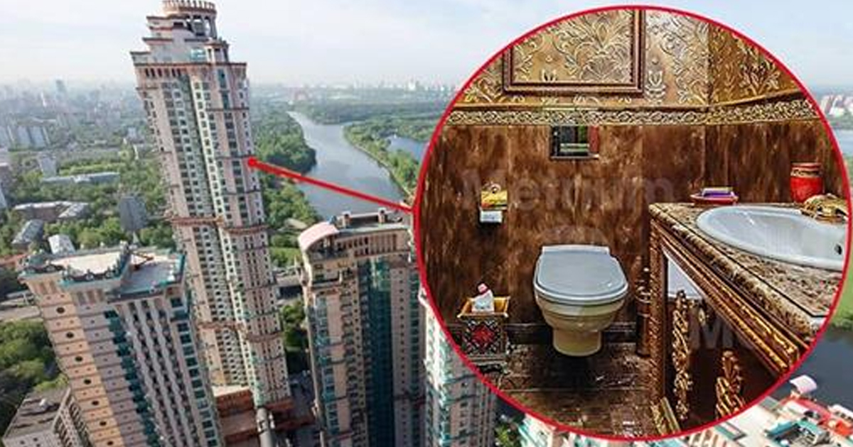 «Трехуровневый трэш». 36 ФОТО московских квартир для миллионеров