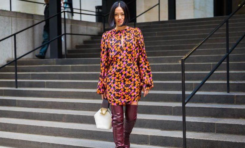 Какие платья сейчас в моде и с чем их носить