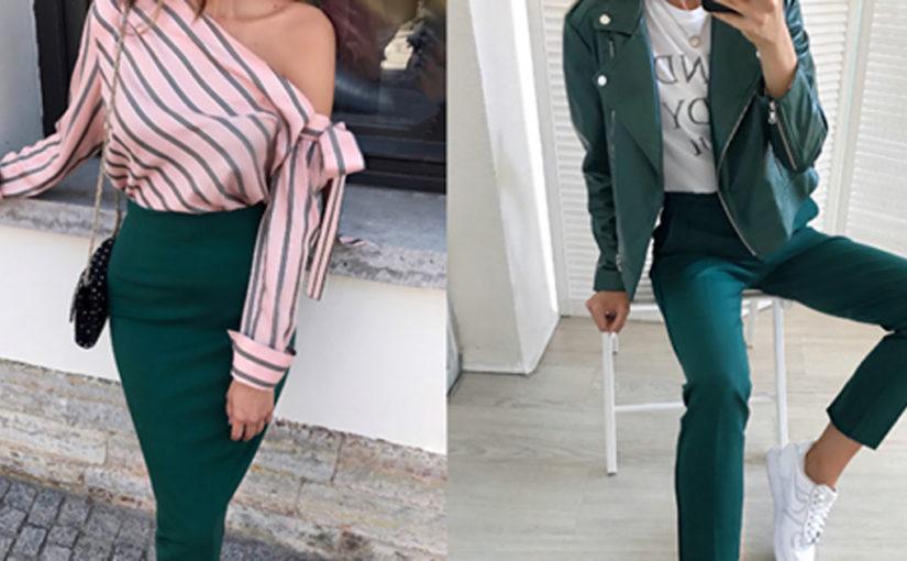 Цвет чирок — хит сезона: как носить и с чем сочетать