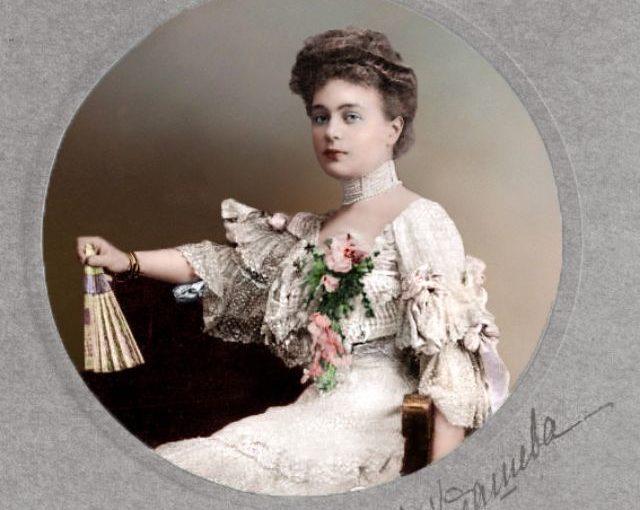 Матильда Кшесинская и другие красавицы царской России в колоризированных архивных фото