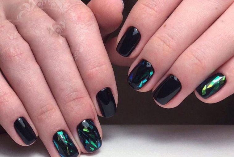35+ идей эффектного маникюра на ногтики средней длины