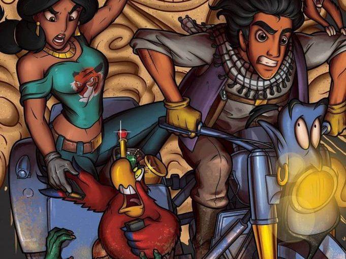 Любимые мультфильм из детства, изображенные в жанре триллера