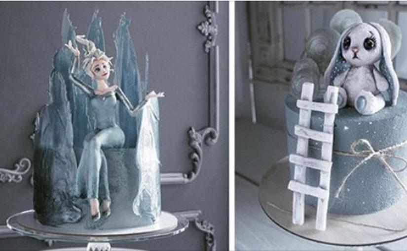 Девушка создает такие торты, что их очень хочется, но очень жалко съесть