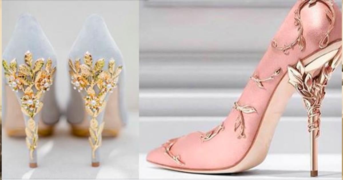 Подборка восхитительных туфель, которые похожи на произведение искусства