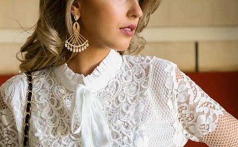 Нежная Изысканная блузка 2018: 14 моделей элегантных стильных образов