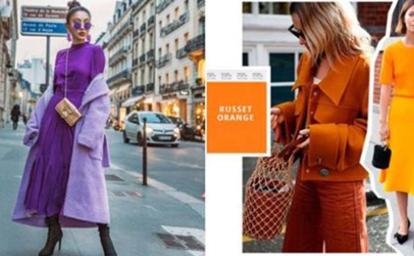 7 модных цветов этой осени 2018 и как их носить