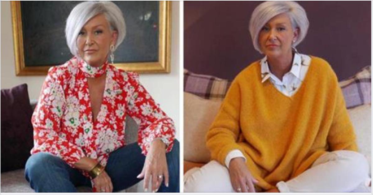 Лучшие цветовые сочетания, которые великолепно подходят дамам с седыми волосами