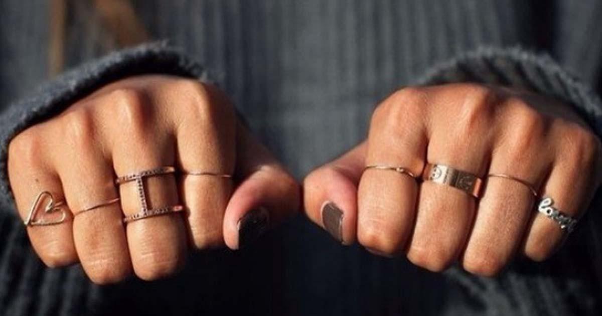 Что символизируют кольца на разных пальцах